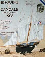 "Brand new wooden model ship kit by Soclaine: ""Le Petrel"" Cancale Fishing Boat"