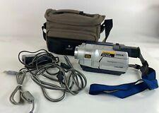 Sony CCD-TRV118 Nightshot Hi8 Tape Camcorder Vision 560x Digital Zoom w/Case
