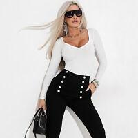 BY ALINA Damenshirt Jeans Top Oberteil Jeanshemd Shirt Spitze 34 36 38 #771
