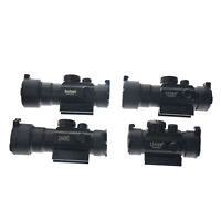 3X44 Vert Point Rouge Sight Scope Optique Tactique Fusil Portée Fit 11/20mm Rail