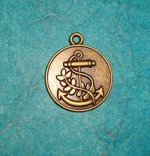 Pendant Anchor Charms Bronze Charm Nautical Charm Sailing Pirate Charm Boating