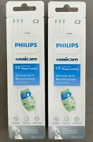 6x Philips Sonicare HX9023/65 C2 Toothbrush Heads brush Optimal Plaque Control