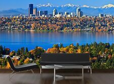 Gorgeous autumn scenery @ Bel 3D Wallpaper Mural Wall Paper Background Furniture