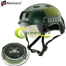 Military Tactical Airsoft Paintball SWAT Combat Protective Fast Helmet W/ Goggle