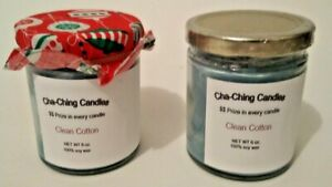Clean Cotton Scented Cash Candles, with REAL money inside! Up to $50