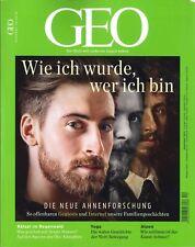 GEO Magazin, Heft 12   Dezember 2018: Wie ich wurde, wer ich bin ++ wie neu +++