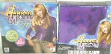 NEW HANNAH MONTANA TOY LOT easter TOYS cd board game PLAYSET GIRL TALK