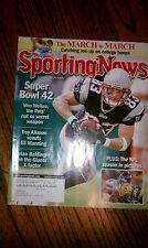 The Sporting News Wes Welker New England Patriots #83 WR KR NFL Pro Bowl HOF