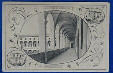 PIACENZA Collegio San Girolamo Floreale viaggiata 1911 f/p #20358