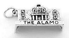 STERLING SILVER THE ALAMO CHARM PENDANT
