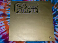 DEEP PURPLE 24 Carat Purple PURPLE RECORDS (EMI) 1975 lilac vinyl NEAR MINT OOP!