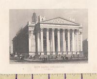 C1840 Victoriano Estampado~ Londres~ The New Real Intercambio