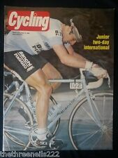 CYCLING - JUNIOR TWO DAY INTERNATIONAL - MAY 15 1982
