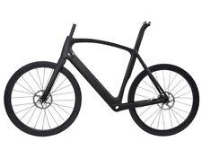 Disc Brake Aero Carbon frame Road Bike Wheels Clincher Tubeless Rotors 700C 52cm