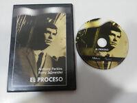 EL PROCESO DVD SLIM ANTHONY PERKINS ROMY SCHNEIDER CASTELLANO ENGLISH