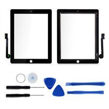 FRONTGLAS für iPad 3 Schwarz Glas Display Touchscreen Digitizer Glasscheibe