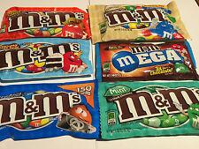 USA M&M'S PEANUT BUTTER PRETZEL CAKE ALMOND AMERICAN CANDY CHOCOLATE RARE