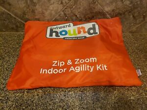 Outward Hound Zip & Zoom Indoor Agility Kit Dog Training Raise The Woof