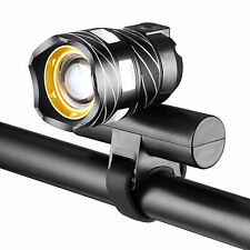 Bike Front Headlight 15000LM XM-L T6 LED MTB Rechargeable Bicycle Light w/USB
