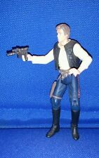 Star Wars Han Solo Smuggler with weapon POTF figure loose Rogue Rebel