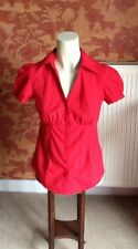New Look Red Short Sleeve Shirt