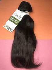 """Outre Simply 100% Non-processed Brazilian_NATURAL_WAVE_10""""_#N. Brown"""