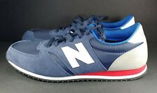 NEW BALANCE U420RB SNEAKERS BLUE GRAY SUEDE RUNNING SHOES (MEN'S 13D)