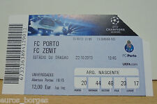 Ticket FC PORTO v ZENIT - UEFA Champions League 2013 / 2014
