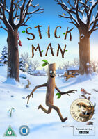 Stick Man DVD (2016) Jeroen Jaspaert cert U ***NEW*** FREE Shipping, Save £s