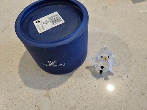 Swarovski Crystal Snowman in Box