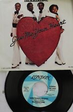 Soul Picture Sleeve 45 Bloodstone - Something'S Missing / Give Me Your Heart On