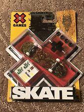 New listing New X Games Skate Mattel Fingerboard TECH DECK Skateboard Stickers Squid