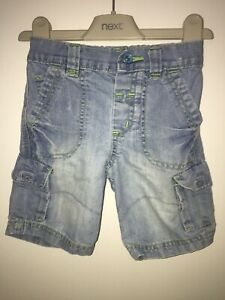Boys Age 9-12 Months - Next Denim Shorts