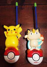 Pokémon Walkie Talkies (includes Pikachu and Meowth) by Tiger Electronics 1998