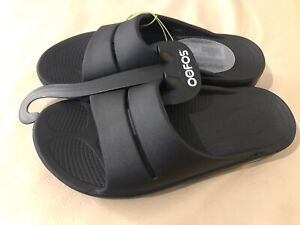 Oofos OOahh Slide Black Unisex - Choose Size