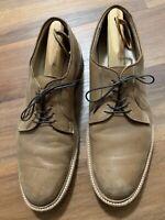 Alden San Francisco Men's 9501 Plain Toe Blucher Natural Chromexcel Size 12 B/D