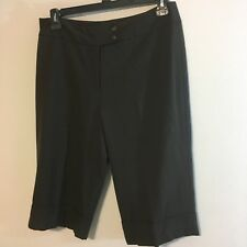 josephine chaus womens shorts size 12 brown culottes  s7