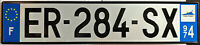🌟😊🌟 INDIAN OCEAN-FRANCE OVERSEAS 2010's REUNION LICENSE PLATE.