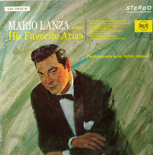 "Mario Lanza Sings His Favorite Arias 12 "" LP (c284)"