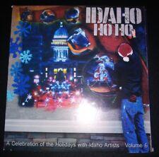 """IDAHO HO HO """"A CELEBRATION OF IDAHO ARTISTS VOLUME 6"""" CD 2015 MOXIE JAVA"""