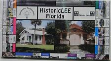 Monopoly style Historic Lee Historical Society Florida Edition Brand New Sealed