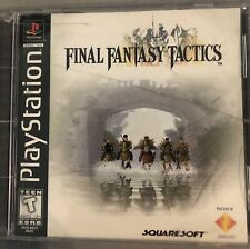 New listing Final Fantasy Tactics Case And Manu 00006000 al Only (Sony PlayStation 1, 1998)