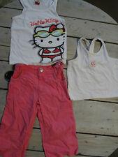 Ensemble pantalon léger rose TAO+2 Débardeurs HELLO KITTY/SERGENT Taille 3 ans