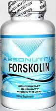 Absonutrix Forskolin 20% root extract 800mg per serving helps burn fat