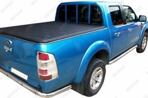 For Ford Ranger 06-12 Soft Roll Up Tonneau Cover Soft Vinyl Load Bed Cover