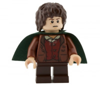 Lego Frodo Baggins 9472 Dark Green Cape The Lord of the Rings Minifigure