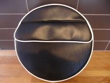 Black/White Slip Pocket Scooter Wheel Cover
