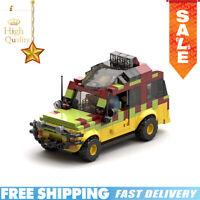 MOC25926 for Jurassic Park Tour Vehicle Ford Explorer Building Blocks Brick Toys