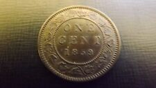 CANADA  CENT 1859 CHOICE UNC OR BETTER MULTIPLE DIE CRACKS