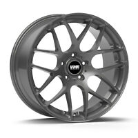 "4pcs 18"" VMR Wheels V710 18x9.5 et22   5x120   72.6mm Centerbore   Gunmetal"